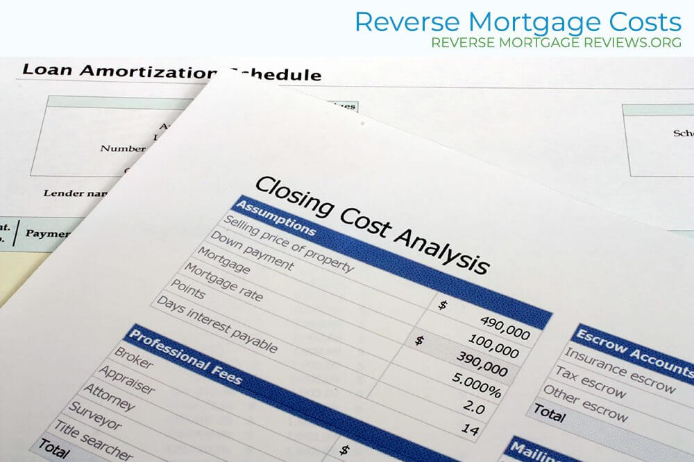 Reverse Mortgage Costs