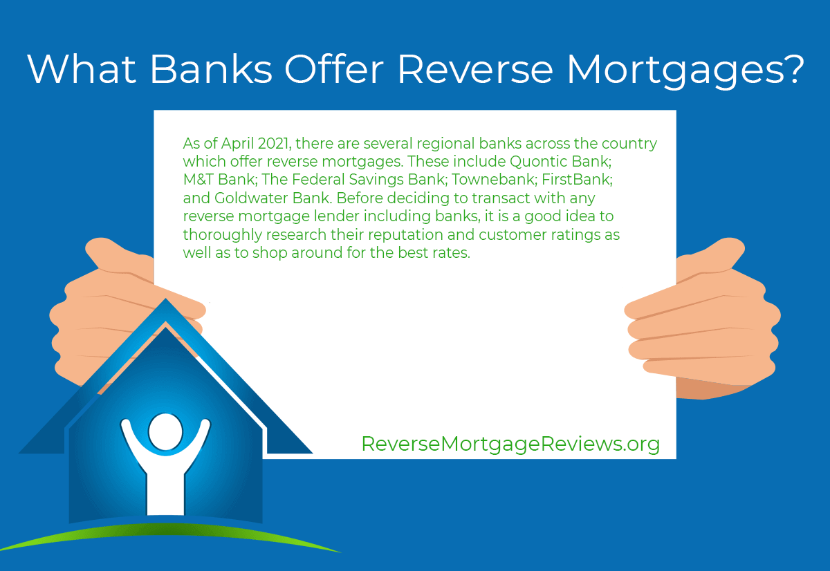 banks that offer reverse mortgages