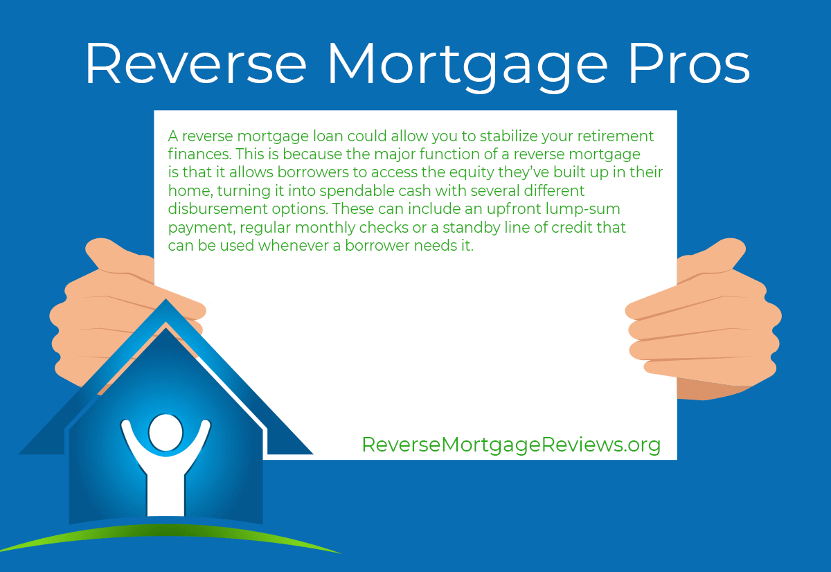 reverse mortgage pros summary